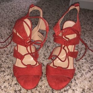 Charlotte Russe Strappy Heels